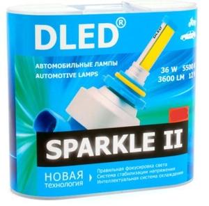 Светодиодная автолампа H27 880 - DLED Sparkle 2 36Вт