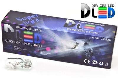 Автомобильная лампа T10 W5W 24V 5Вт