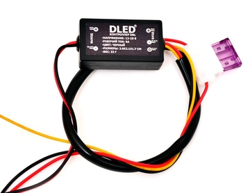 Контроллер управления DRL по напряжению
