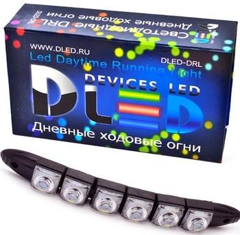 Дневные ходовые огни DRL-64 2x1,44W (гибкие)