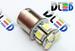 Светодиодная автолампа P21W 1156 - 8 SMD5050 1,92Вт (Белая)