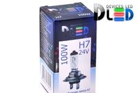 Галогеновая автомобильная лампа H7 24V 100Вт