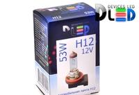 Галогеновая автомобильная лампа H12 53Вт