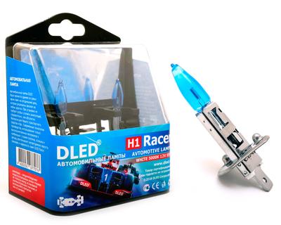 Газонаполненные автомобильные лампы H1 - DLED Racer 5000K 85Вт