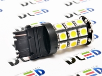 Светодиодная автолампа W21W 7440 - 20 SMD7020 Black 4,32Вт (Белая)