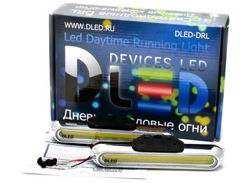 Дневные ходовые огни DLed DRL-115 COB 2x3W