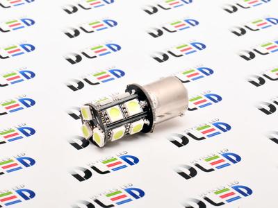 Светодиодная автолампа P21W 1156 - 13 SMD5050 Black 3,12Вт (Белая)