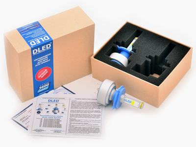 Светодиодная автолампа Н4 - DLED Sparkle 1 36Вт