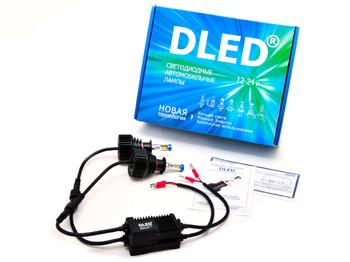Светодиодная автолампа Н3 - DLED SL7 Premium 20Вт