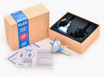 Светодиодная автолампа Н3 - DLED Sparkle 1 36Вт