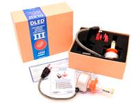 Светодиодная автолампа Н7 - DLED Sparkle 3 40Вт + ДХО