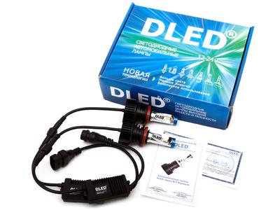 Светодиодная автолампа Н8 - DLED SL7 Premium 20Вт