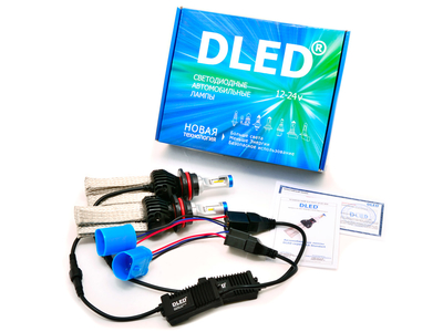 Светодиодная автолампа HB5 9007 - DLED SL6 Standart 20Вт