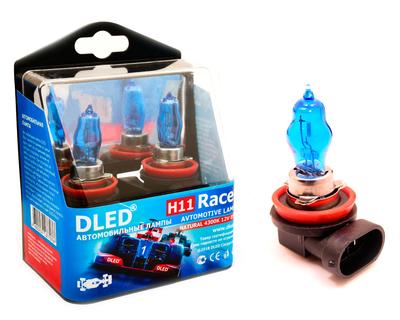 Газонаполненные автомобильные лампы H11 - DLED Racer 4300К 85Вт