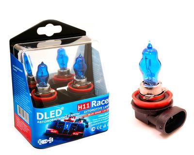 Газонаполненные автомобильные лампы H11 - DLED Racer 8000К 85Вт