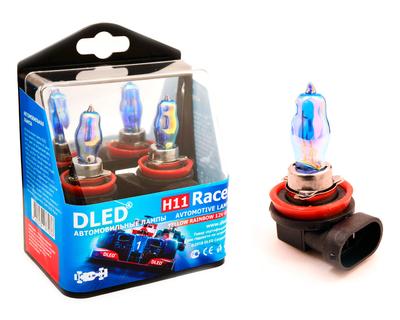 Газонаполненные автомобильные лампы H11 - DLED Racer Rainbow 85Вт