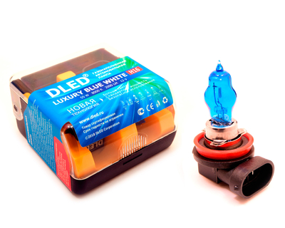 Газонаполненные автомобильные лампы H16 - DLED Luxury 8000К 55Вт
