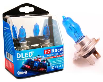 Газонаполненные автомобильные лампы H7 - DLED Racer 8000К 85Вт