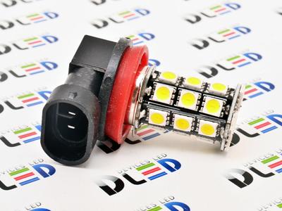 Светодиодная автолампа Н8 - 27 SMD5050 Black 6,48Вт