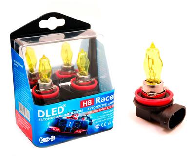 Газонаполненные автомобильные лампы H8 - DLED Racer 3000К 85Вт