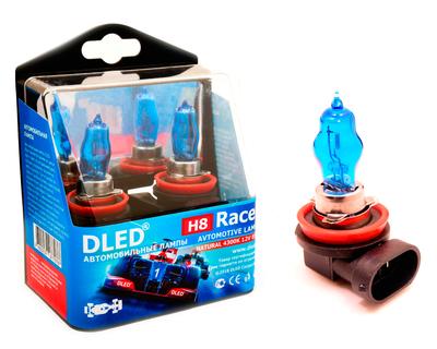 Газонаполненные автомобильные лампы H8 - DLED Racer 4300К 85Вт