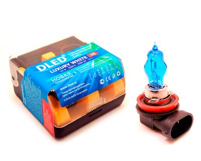 Газонаполненные автомобильные лампы H8 - DLED Luxury 5000К 55Вт