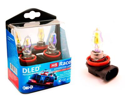 Газонаполненные автомобильные лампы H8 - DLED Racer Laser 85Вт