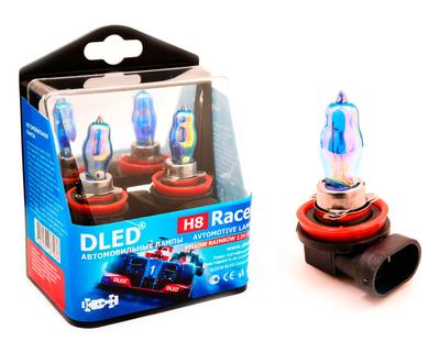 Газонаполненные автомобильные лампы H8 - DLED Racer Rainbow 85Вт