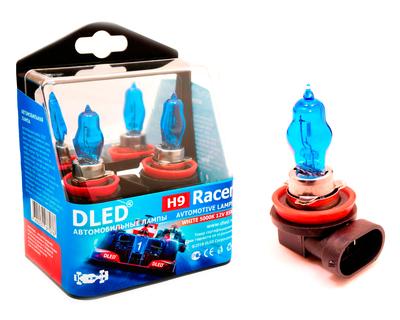 Газонаполненные автомобильные лампы H9 - DLED Racer 5000К 85Вт
