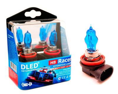 Газонаполненные автомобильные лампы H8 - DLED Racer 6500К 85Вт
