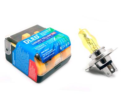 Газонаполненные автомобильные лампы H4 - DLED Luxury 3000К 55Вт