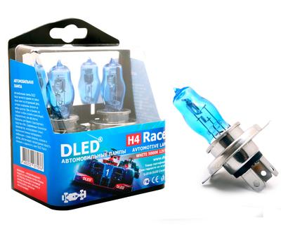 Газонаполненные автомобильные лампы H4 - DLED Racer 5000К 85Вт
