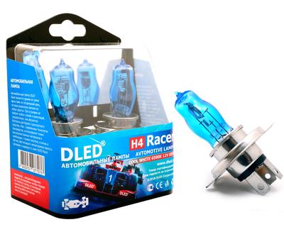 Газонаполненные автомобильные лампы H4 - DLED Racer 6500К 85Вт