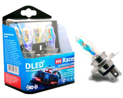Газонаполненные автомобильные лампы H4 - DLED Racer Rainbow 85Вт