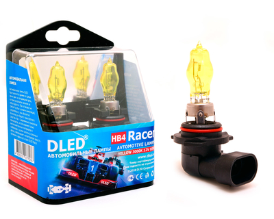 Газонаполненные автомобильные лампы HB4 9006 - DLED Racer 3000К 85Вт