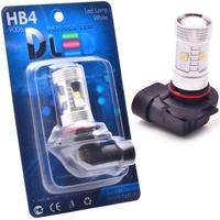 Светодиодная автолампа HB3 9005 - 6 Epistar Линза 30Вт