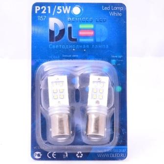 Светодиодная автолампа P21W 1156 - 12 SMD2323 12Вт (Белая)