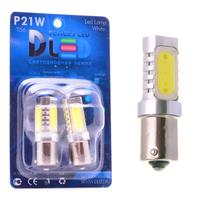 Светодиодная автолампа P21W 1156 - 4 HP 6Вт (Жёлтая)