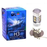 Светодиодная автолампа Н3 - 10 SMD2323 Линза 10Вт
