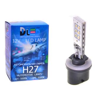 Светодиодная автолампа H27 880 - 12 SMD2323 Стабилизатор 12Вт