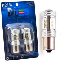 Светодиодная автолампа P21W 1156 - 12 SMD2323 + 2 CREE XB 22Вт (Белая)
