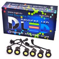 Дневные ходовые огни DRL-6x2