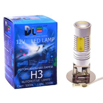 Светодиодная автолампа Н3 - 5 HP Линза 7,5Вт