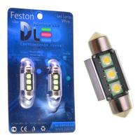 Салонная лампа C5W FEST 36мм - 3 CREE XB Обманка 6Вт (Белая)