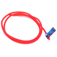 Гибкий холодный неон EL - 5мм (Красный)