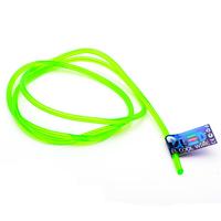 Гибкий холодный неон EL - 5мм (Зелёный)