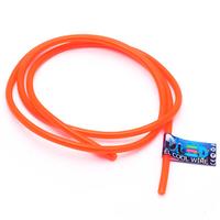 Гибкий холодный неон EL - 5мм (Оранжевый)