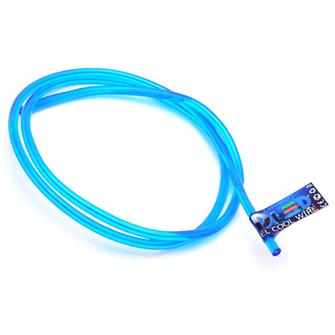 Гибкий холодный неон EL - 5мм (Синий)