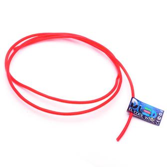 Гибкий холодный неон EL - 3,2мм (Красный)