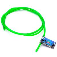 Гибкий холодный неон EL - 3,2мм (Зелёный)